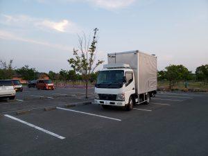 2tトラックの練習