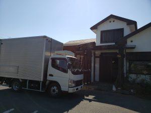 お店の備品運搬
