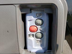 パワーゲート操作ボタン